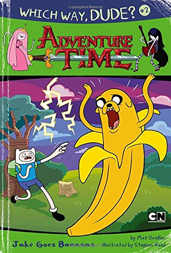 9780843175264: Which Way, Dude?: Jake Goes Bananas (Adventure Time (Price Stern Sloan))