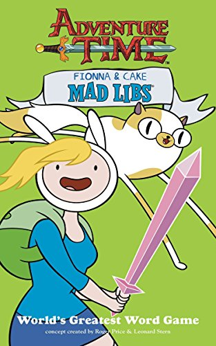 9780843175288: Fionna and Cake Mad Libs (Adventure Time)