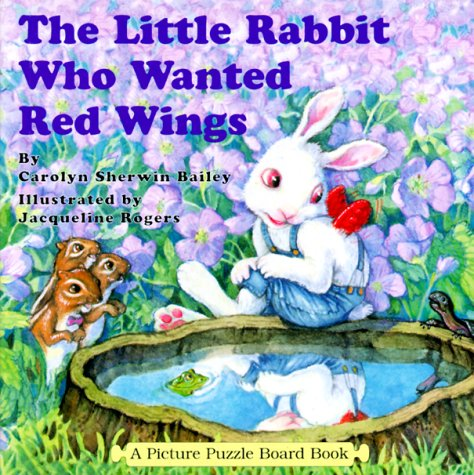 9780843175677: The Little Rabbit Who Wanted Red Wings: A Picture Puzzle Board Book (Picture Puzzle Board Books)