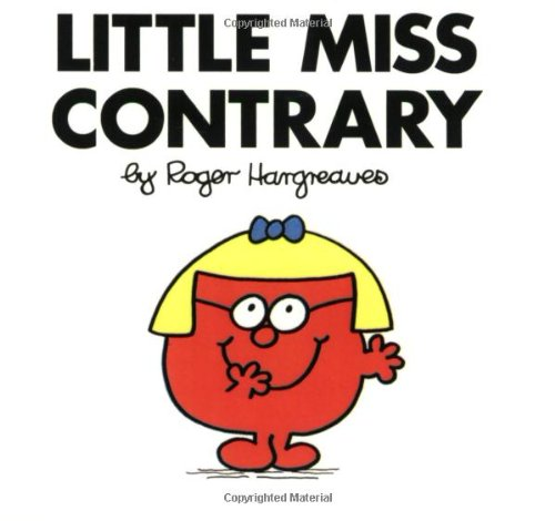 9780843176193: Little Miss Contrary (Mr. Men & Little Miss)
