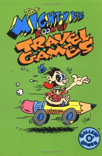 The Mighty Big Book of Travel Games: Anastasio, Dina; Yoe,