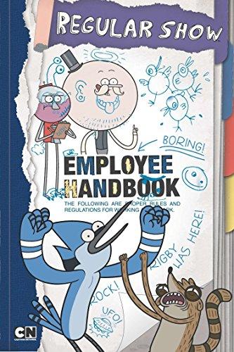 9780843177435: Employee Handbook (Regular Show)
