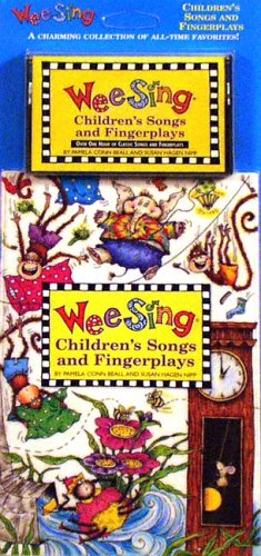9780843177619: Wee Sing Children's Songs and Fingerplays book and cassette(reissue)
