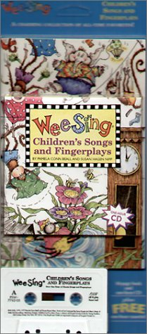9780843177626: Wee Sing Children's Songs and Fingerplays book and cd (reissue)