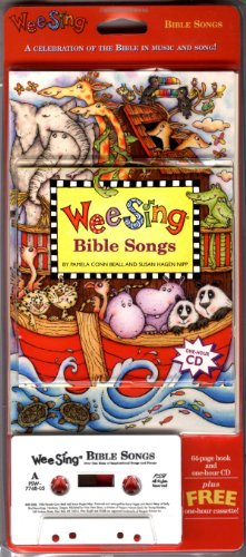 9780843177688: Wee Sing Bible Songs book and cd (reissue)