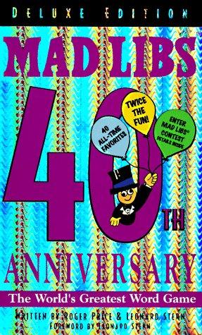 9780843178234: Mad Libs, 40th Anniversary Edition
