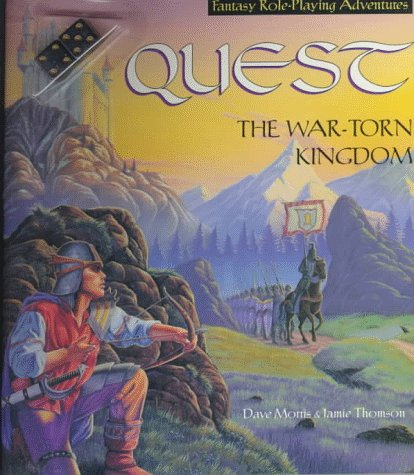 9780843179262: Quest: The War Torn Kingdom/Book and Dice (New Gamebook Series)