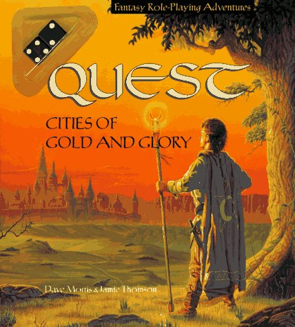 9780843179279: Cities of Gold and Glory (New Gamebook)
