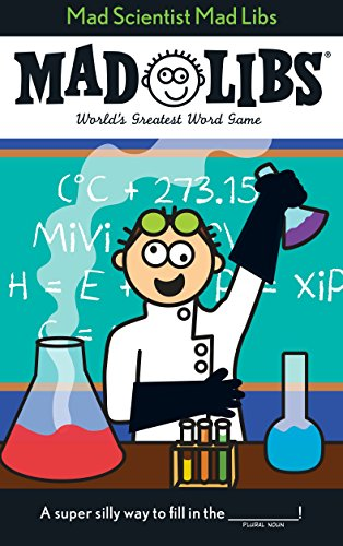Mad Scientist Mad Libs 9780843180572 Mad Scientist Mad Libs features 21 original stories all about mad scientists! Topics include science experiments gone wrong, real life mad scientists, Frankenstein, and much much more! This makes a great Halloween--or anytime!--buy.