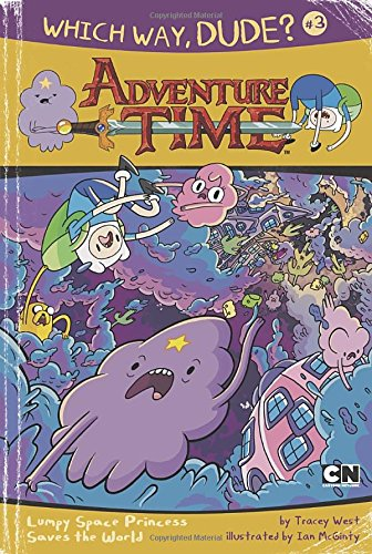 9780843180787: Which Way, Dude?: Lumpy Space Princess Saves the World #3 (Adventure Time)
