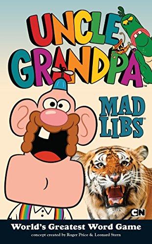 9780843182859: Uncle Grandpa Mad Libs