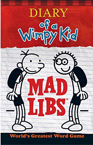 9780843183535: Diary of a Wimpy Kid Mad Libs