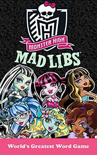 Monster High Mad Libs: Leigh Olsen