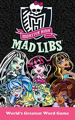 9780843183658: Monster High Mad Libs