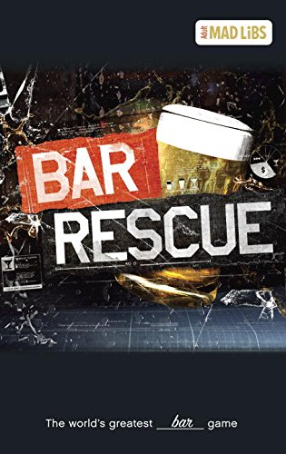 9780843183702: Bar Rescue Mad Libs (Adult Mad Libs)