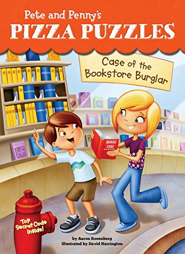 9780843198096: Case of the Bookstore Burglar #3 (Pete and Penny's Pizza Puzzles)