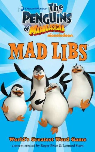 9780843198164: The Penguins of Madagascar Mad Libs