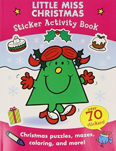 9780843199307: Little Miss Christmas Sticker Activity Book (Mr. Men and Little Miss)