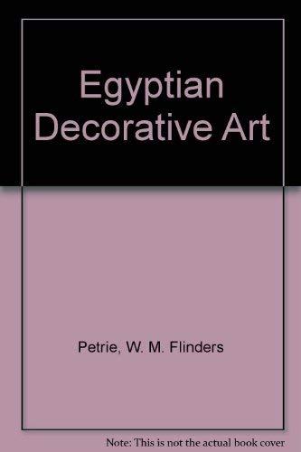 9780843462043: Egyptian Decorative Art