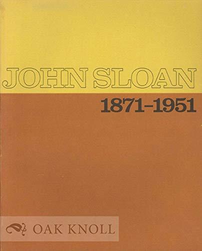 9780843520262: John Sloan 1871-1951