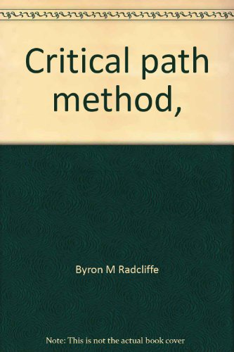 9780843601039: Critical Path Method,