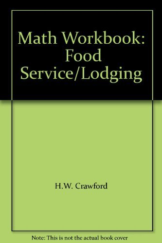 9780843605198: Math Workbook: Food Service/Lodging