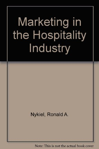 9780843608861: Marketing in the Hospitality Industry