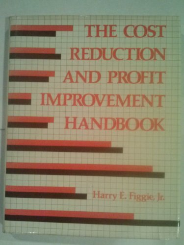 9780843608946: The cost reduction and profit improvement handbook