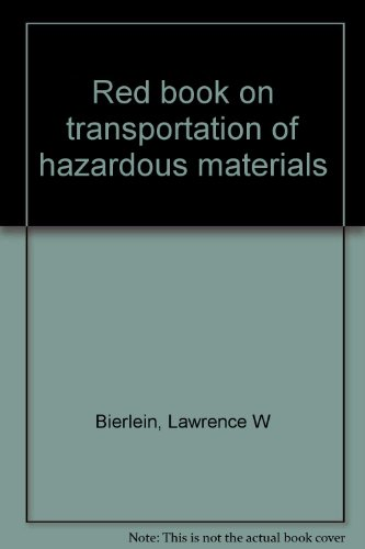 9780843614077: Red book on transportation of hazardous materials