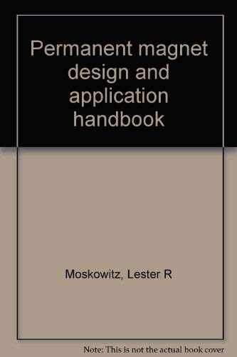 9780843618006: Permanent magnet design and application handbook