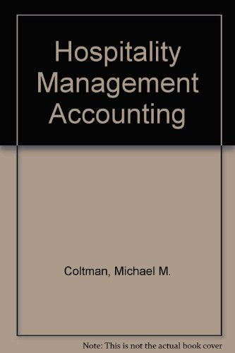 9780843621709: Hospitality Management Accounting