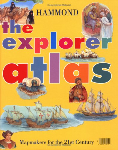 9780843709193: The Explorer Atlas: Hammond