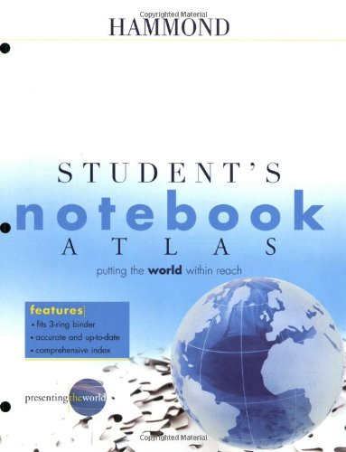 9780843709490: Hammond Student's Notebook Atlas (Hammond Student Atlases)