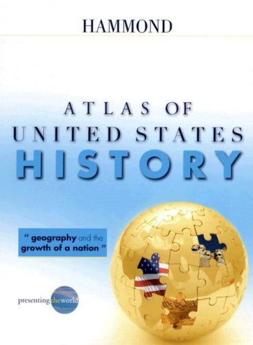 9780843709544: Hammond Atlas of United States History