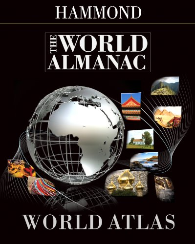 9780843709704: The World Almanac World Atlas 2008