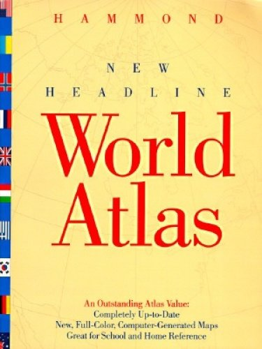 9780843711905: Hammond New Headline World Atlas