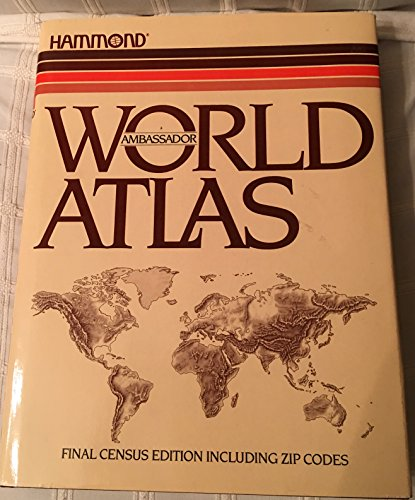 9780843712421: Hammond ambassador world atlas