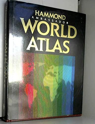 9780843712445: Hammond Ambassador World Atlas