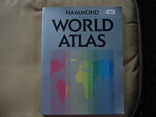9780843712537: Citation world atlas