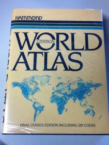 9780843712544: Citation world atlas