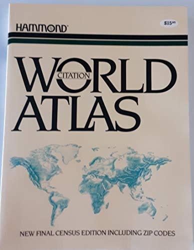 9780843712551: Citation World Atlas
