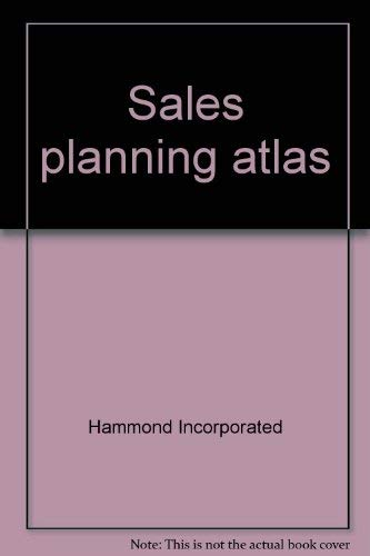 Sales planning atlas: Incorporated, Hammond
