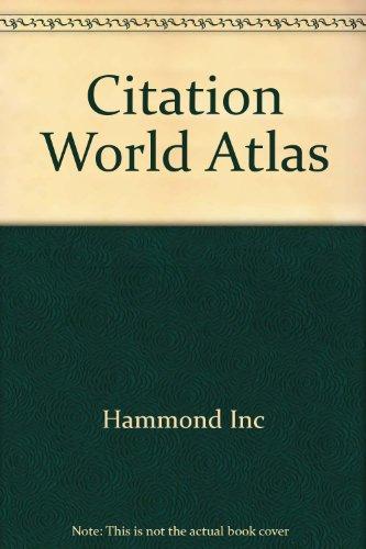 9780843712933: Citation world atlas
