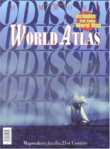 9780843714708: Odyssey World Atlas