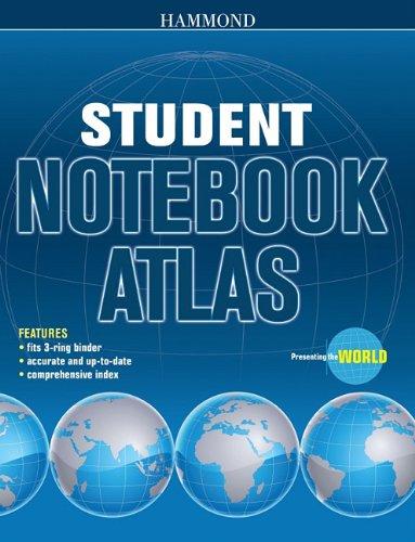 9780843714838: HAMMOND STUDENT NOTEBOOK ATLAS (Hammond Student Atlases)