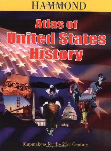 9780843717617: Hammond Atlas of United States History
