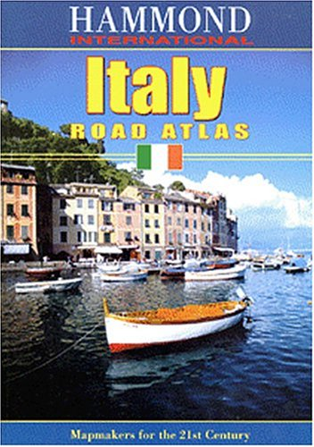 Hammond International Italy Road Atlas (Hammond International)
