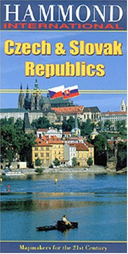 9780843717914: Hammond International Czech & Slovak Republics (Hammond International (Folded Maps))