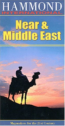 9780843717952: Regional Maps: Near & Middle East (Hammond International (Folded Maps))