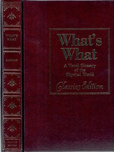 9780843733297: What's What: A Visual Glossary of the Physical World